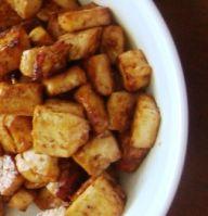 Baked tofu in Korean barbecue sauce recipe - Vegetarian, vegan recipe
