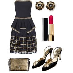 A fashion look from November 2014 featuring sass & bide tops, sass & bide mini skirts and Chanel pumps. Browse and shop related looks.