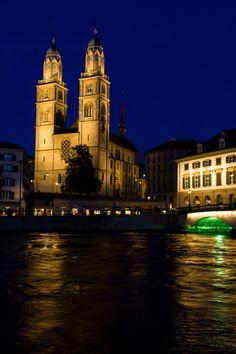 Great Minster of Zurich #switzerland