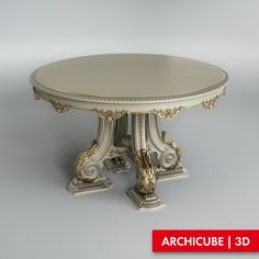 Beau Classic Round Table
