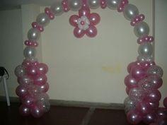 Decoracion en globos on Pinterest   Balloon Arch, Mesas and Fiestas
