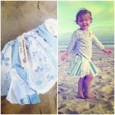 Photoshoot favorites for the upcycled Boho Baby scrap skirt