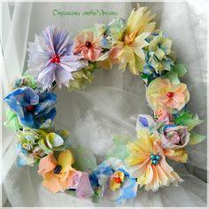 russische DIY bloemenkrans