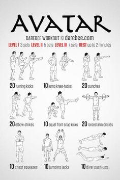 darebee.com - Avatar Workout