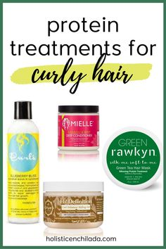 Protein Treatments For Hair - A Guide To Protein & Curly Hair