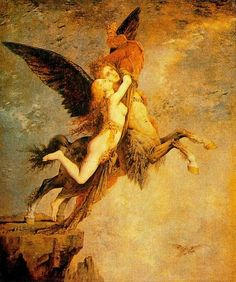 Gustave Moreau - The Chimera