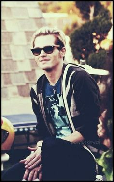 Mikey Way's beautiful smile
