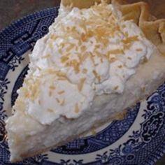 Sugar-Free Coconut Cream Pie (Diabetic)