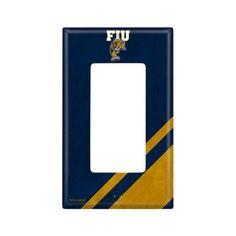 Florida International University Single Rocker Light Switch Cover