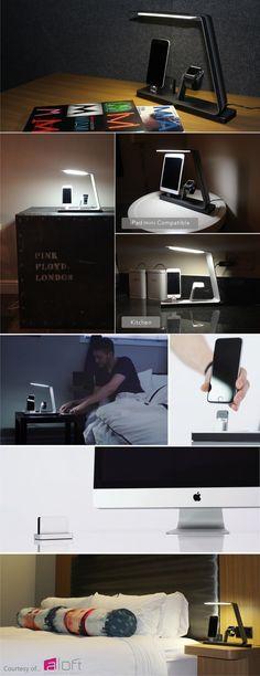 NuDock: Apple Watch & iPhone Docking Station | Indiegogo