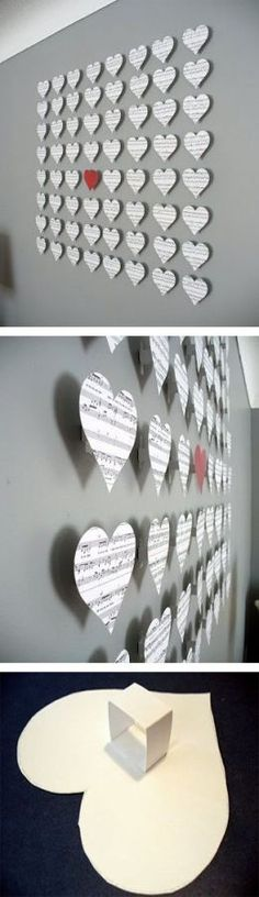 21-Extraordinary-Smart-DIY-Paper-Wall-Decor-That-Will-Color-Your-Life-homesthetics-design-4