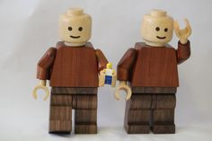 Giant wooden Lego men by Simon Beggs Wood Turning on Instructables
