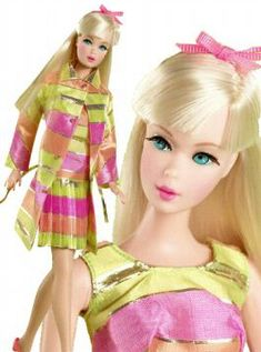 650fb49d41 2005 All That Jazz vintage Barbie reproduction  a beautiful mod Blonde TNT  Barbie wearing All