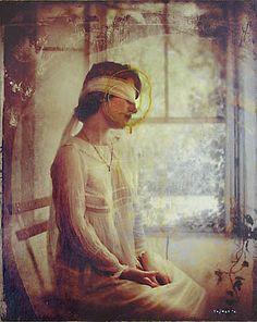 kamil vojnar - love that dress! http://www.saatchionline.com/kamilvojnar