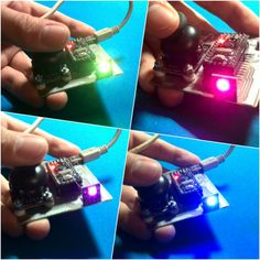 Smthng unuseful with #leds, #joystick and #arduino pro mini