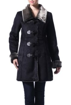Save $120.00 on Jessie G. Women's Faux Shearling Toggle Coat; only $79.99