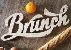 Typographic Objects by You Talking To Me | Inspiration Grid | Design Inspiration