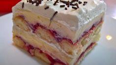 Torta Recipe, Kolaci I Torte, Torte Cake, Vanilla Cake, Tiramisu, Cheesecake, Deserts, Pudding, Sweets