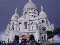 the beautiful Sacre Coeur
