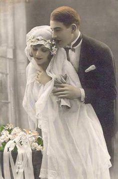 VINTAGE FREE WEDDING POSTCARD
