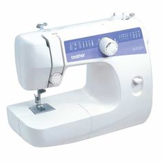 The Brother is a 21 stitch function free arm sewing machine. This is a great machine for mending or someone who is learning to sew. The machine features built-in stitches for garment constru. Sewing Basics, Sewing For Beginners, Sewing Hacks, Sewing Tutorials, Sewing Projects, Sewing Tips, Sewing Machine For Sale, Sewing Machine Tables, Sewing Machine Reviews