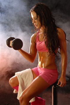 Strength training is essential for fitness, for men and women.