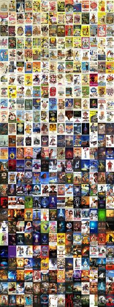 All of Disney movies. Well most of them