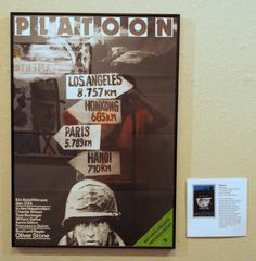 Platoon (East German poster) Oliver Stone, Hanoi, Western Film, Paris, Film Posters, Eastern Europe, German, Iron, Culture
