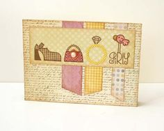 Little Lady.  Stamps by Paper Smooches.  Like the colors and the brown ink.