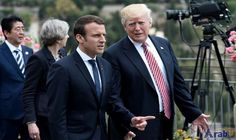 Trump accepts Macron invite to July 14 parade: France