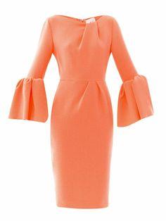 Margot wool-crepe dress   Roksanda Ilincic   MATCHESFASHION.COM