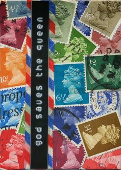 10/365 - Postage Stamp Collage ATC ~ Creative Diary