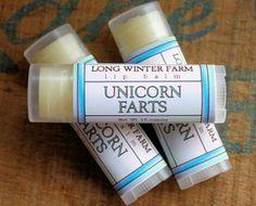 haha unicorn farts. For the kiddos treat bags!