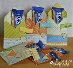 Like the idea of the fabric strip and little flag.