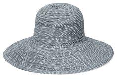 The Scrunchie GreyWhite  www.sunhats.co.za Scrunchies, Inspired, Hats, How To Wear, Travel, Fashion, Moda, Viajes, Hat