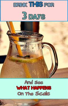 This is a challenge for those who think they can lose weight by drinking cleansing water made with natural ingredients. Drink this 3 times for 3 days and then get on the scale. You will lose weight and also detoxify your body.