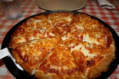 October is National Pizza Month. Are you among the of Americans who regularly eats pizza? Here are fun facts about pizza for National Pizza Month! I Love Pizza, Perfect Pizza, Best Pizza Dough, Pizza Hut, Pizza Food, Pizza Chains, National Pizza, Favourite Pizza, Deep Dish