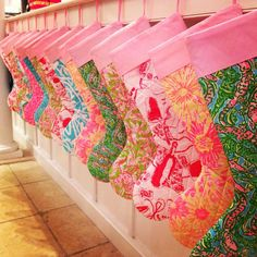 Lilly Pulitzer Stocking Promotion