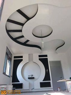 Modern False ceiling designs are an excellent option to add another design element to your projects. Drawing Room Ceiling Design, Gypsum Ceiling Design, Interior Ceiling Design, House Ceiling Design, Ceiling Design Living Room, Bedroom False Ceiling Design, Ceiling Light Design, Modern Ceiling, Ceiling Decor