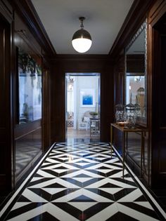 Phoebe Howard  Max and Co.  black and white marble floor