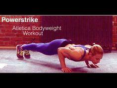 Powerstrike Atletica Bodyweight - Simple Full Body Strength Training Workout (no equipment) - YouTube