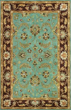 Get #Rugs with Oriental Designer Rugs. He is the perfect for area rug in large size and different colors and designs. We have great rug expert for your Home Decoration Collection rugs.  http://www.orientaldesignerrugs.com/traditional-and-oriental-rugs/lamar-LE-75TURQUOISE.aspx