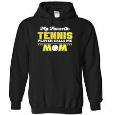 My favorite Tennis Player calls me mom - 1215, Order HERE ==> https://www.sunfrog.com/LifeStyle/My-favorite-Tennis-Player-calls-me-mom--1215-6595-Black-Hoodie.html?53624 #xmasgifts #christmasgifts #birthdayparty #birthdaygifts