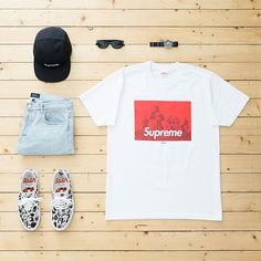 WEBSTA @ jaybeezishangintough - today's #outfitgrid#Supreme x #Undercover tee / #APC denim / Suprem camp cap / #YusukeHanai x Vans authentic sf / #Rayban shades / #Seiko vintage 7002 watch@dennistodisco @outfitgrid #supremenewyork #undercoverlab #basementapproved #suptalk #ootd #outfitoftheday #streetbeast #outfit #streetwear #streetstyle #menswear #mensfashion #casuals #casualstyle #fashion #strassenmodekultur #minimalmovement #kotd #fashionkilla #snobshots