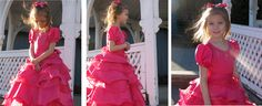 Just one of the things that makes this dress stand out is the way the layer of ruffles have that curly effect. In this tutorial I will sho...