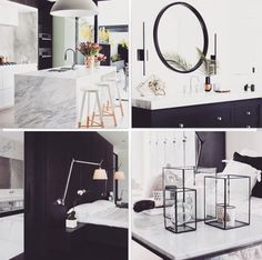 Add a touch of marble to your abode to add that instant luxe affect!  #marble#luxe#interiordesign#styling#bathroom#kitchen#entrance#livingroom#homedecor#marbleeffect#glam#pinterestfavourites