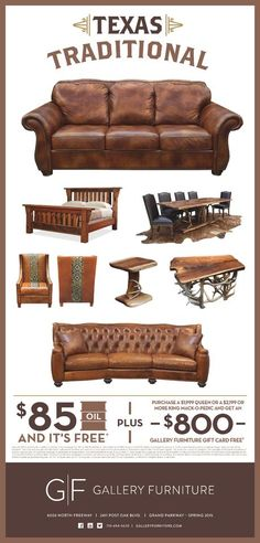 When it comes to quality your can trust, made in America is the way to go. When it comes expert assistance in choosing your next solid wood dining room set, solid wood bedroom set, top grain leather furniture pieces and home decor accessories Gallery Furniture is the place to be! Come see us TODAY or shop online by clicking the pin! #TexasDecor   Houston TX   Gallery Furniture  