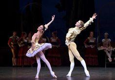 Paris Opera Ballet's Ludmila Pagliero and Karl Paquette in Don Quixote.  © Julien Benhamou.