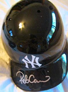 Robinson Canó Autographed New York Yankees Batting Helmet