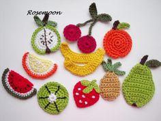 Erdbeere  von rosemoon auf DaWanda.com